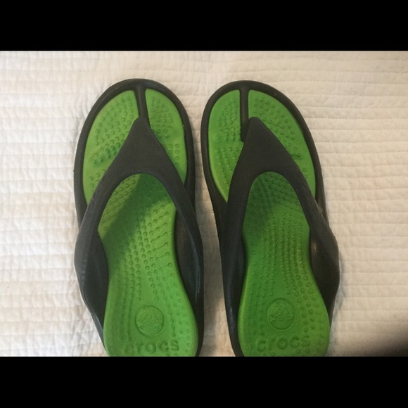 CROCS Shoes | Crocs Black And Green